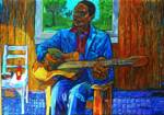 Blues Man with Fish and Hot Sauce_image